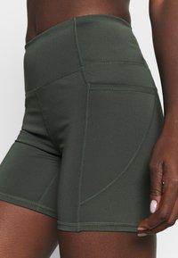 Cotton On Body - LOVE YOU A LATTE BIKE SHORT - Leggings - khaki - 3