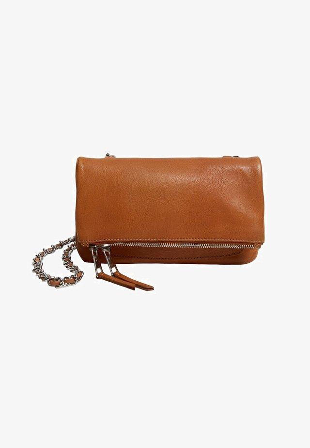 ZAIDA - Taška spříčným popruhem - leather