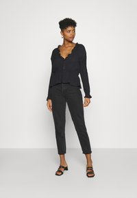 Nly by Nelly - ROMANTIC CHI BLOUSE - Bluser - black - 1