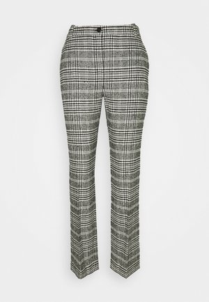 PANTALONI TROUSERS - Pantalones - black/white