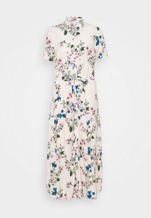 OBJPAREE DRESS - Shirt dress - sandshell