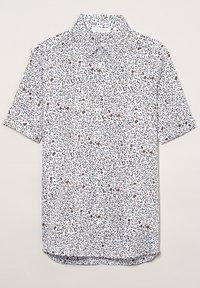 Eterna - Button-down blouse - weiss/braun - 4