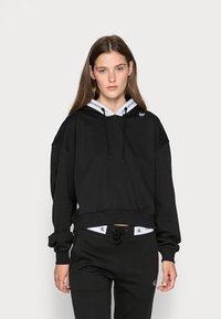Calvin Klein Jeans - TAPING HOODIE - Hoodie - black - 0