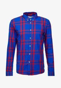 TOM TAILOR DENIM - CHECK AND STRIPE SHIRTS - Koszula - blue/red - 4