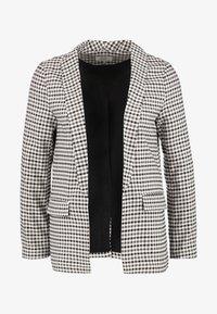 ONLY Tall - ONLLENA LONG - Short coat - grape leaf/black/cream pink - 4