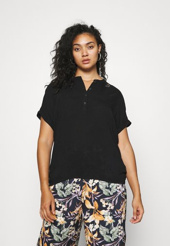 RICOTA - Print T-shirt - black