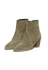 ICHI - IAFANN SUEDE BOOT - Ankle boots - natural - 3
