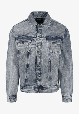 Denim jacket - light skyblue acid washed