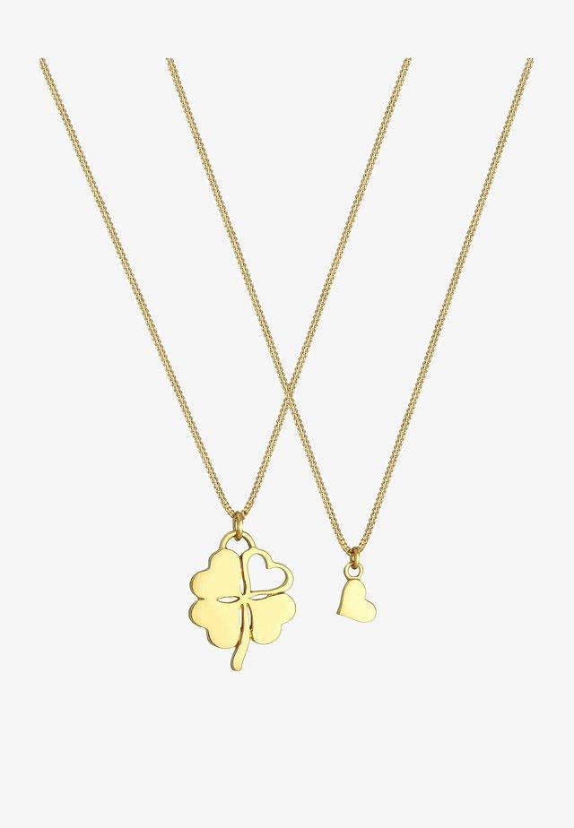 CLOVER LEAF - Collana - gold