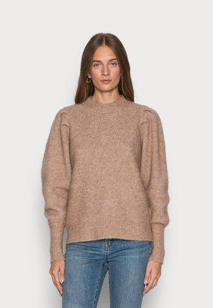 SLFLINNA MIA KNIT O NECK - Sweter - amphora