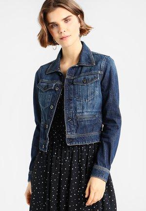 D-STAQ S DC DNM JKT - Giacca di jeans - dark blue denim