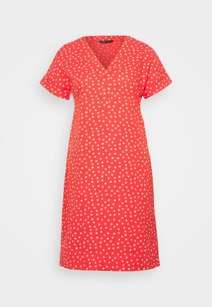 SPOT SHIFT - Day dress - coral