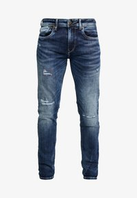 Pepe Jeans - HATCH - Jeansy Slim Fit - dark used - 4