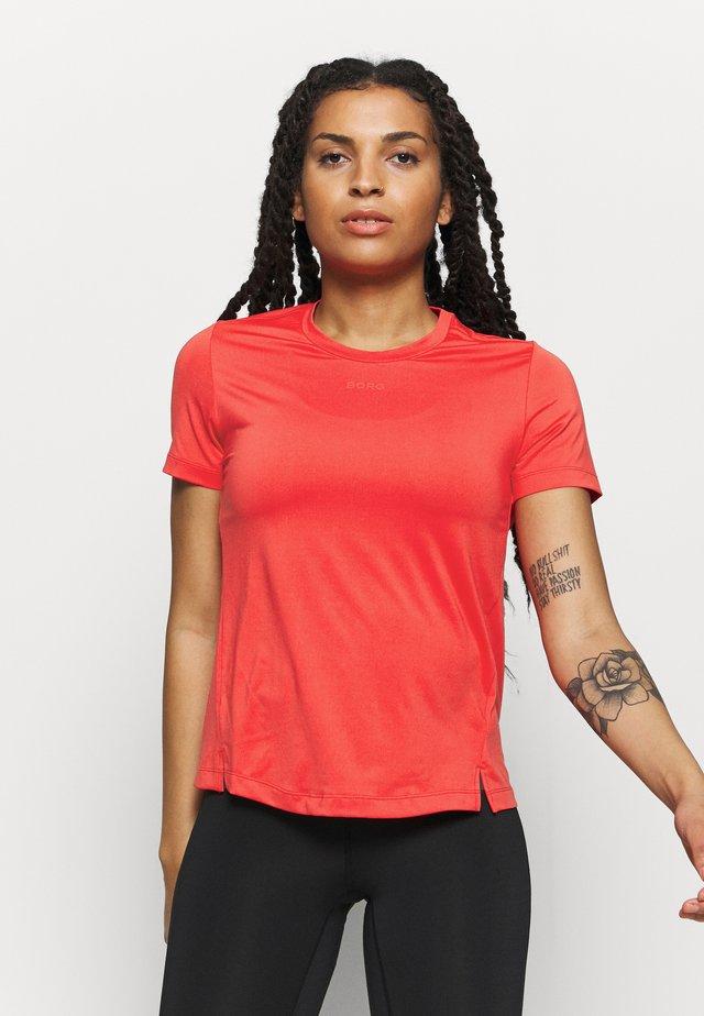 CATO TEE - T-shirt basique - bittersweet