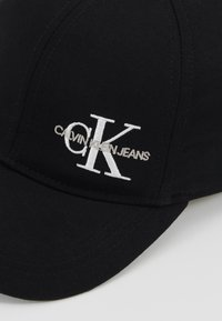 Calvin Klein Jeans - MONOGRAM BASEBALL - Lippalakki - black - 2