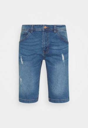 HAMPTON - Jeansshort - light blue