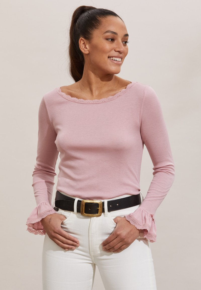 Odd Molly - GLADYS - Long sleeved top - pink mauve