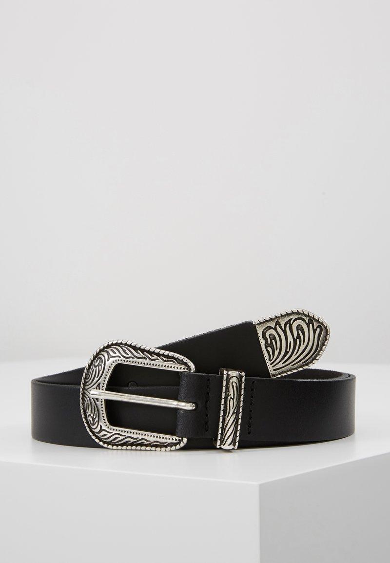 TOM TAILOR DENIM - Belt - black