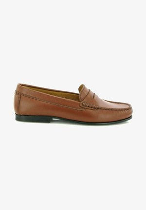 YOKI LOAFERS - Moccasins - cuoio