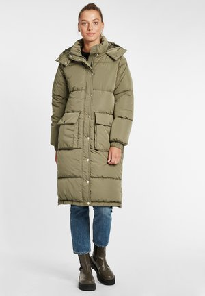 Winter coat - dusty olive