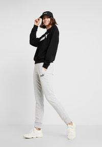 Puma - LOGO CREW  - Sweater - black - 1