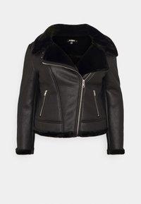 Missguided Plus - AVIATOR - Winter jacket - black - 0