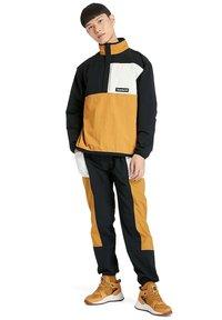 Timberland - OUTDOOR ARCHIVE PACKABLE  - Windbreaker - black white sand wheat - 1