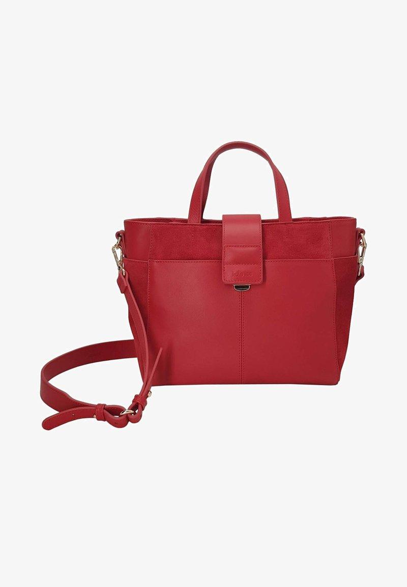 kate lee - MYA VEV - Handbag - rouge