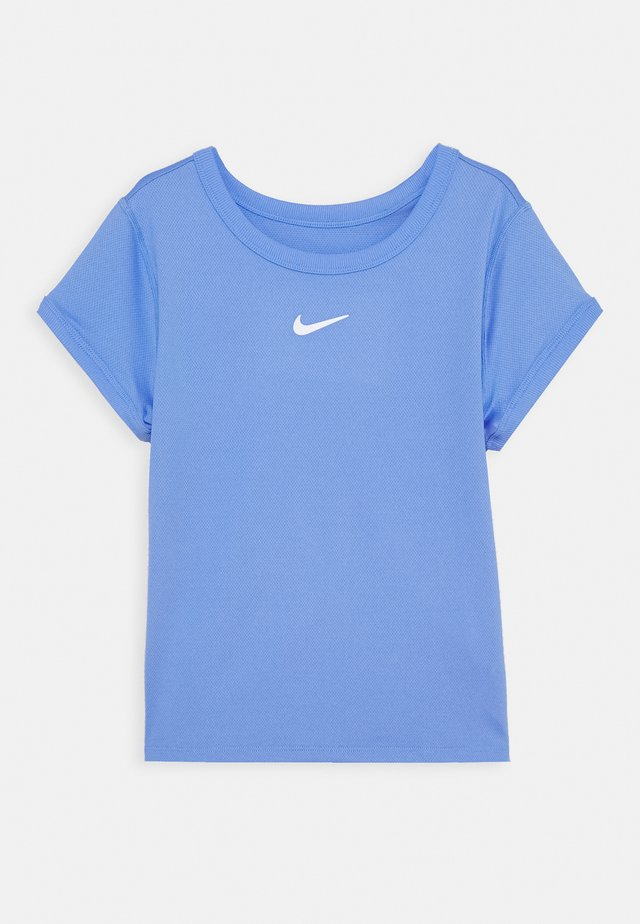 DRY  - Basic T-shirt - royal pulse/white