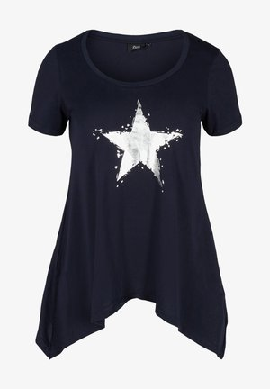 Print T-shirt - night sky star