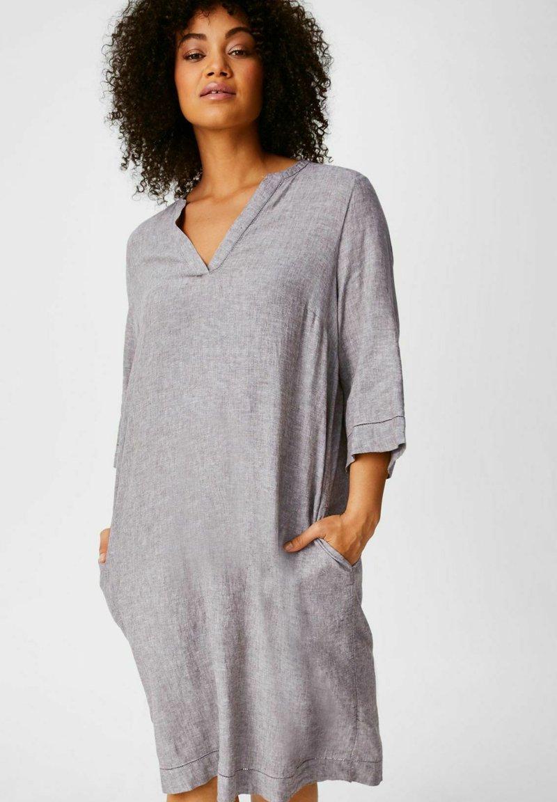 C&A - Day dress - grey