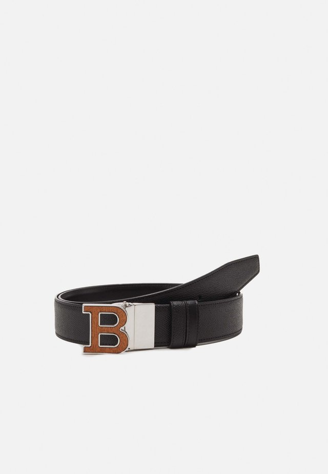 ICONIC BUCKLE BUCKLE - Skärp - black
