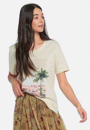 RUNDHALS - T-shirt print - weiß/multicolor