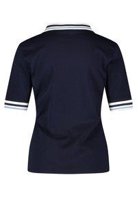 Gerry Weber - MIT KONTRASTKANTEN - Polo shirt - azur - 5