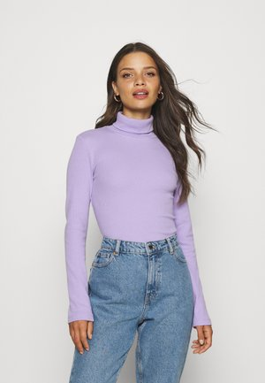 PCANNA ROLL NECK - Jumper - lavender
