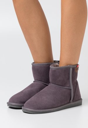 WINTER - Classic ankle boots - gris