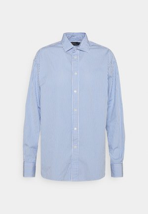 LONG SLEEVE - Button-down blouse - medium blue/white