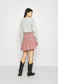 Madewell - SMOCKED MINI SKIRT  - Mini skirt - pale dawn - 2