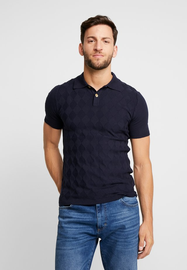 Poloshirt - maine blue