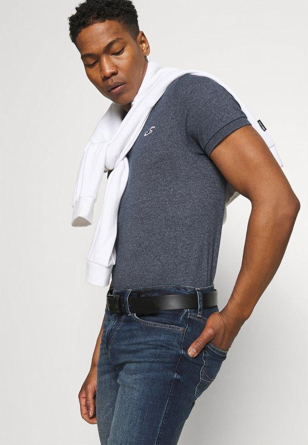 Hollister Co. CORE - Koszulka polo - navy/granatowy Odzież Męska CSJE