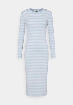 TONAL STRIPE DUBA - Žerzejové šaty - forever blue