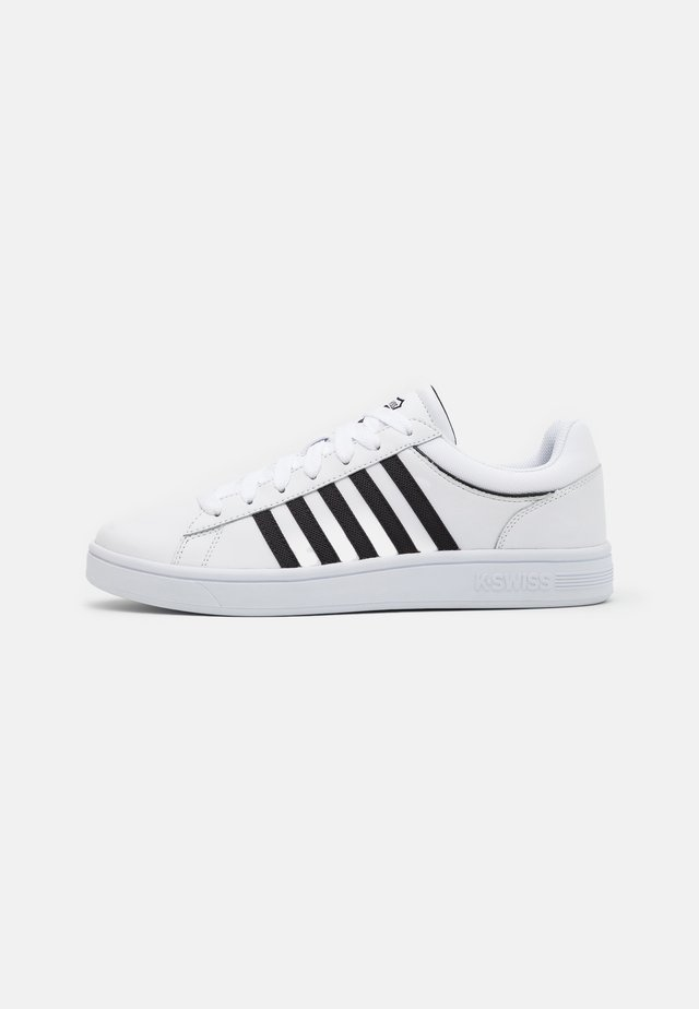 COURT WINSTON - Sneakers laag - white/black