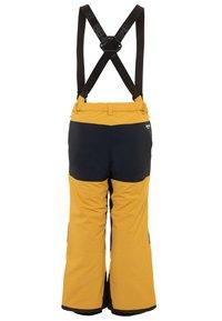 8848 Altitude - CODY PANT - Zimní kalhoty - mustard - 1