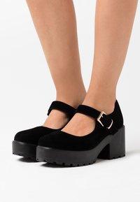 Koi Footwear - VEGAN - Platform heels - black - 0