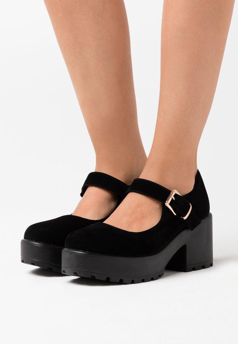 Koi Footwear - VEGAN - Platform heels - black