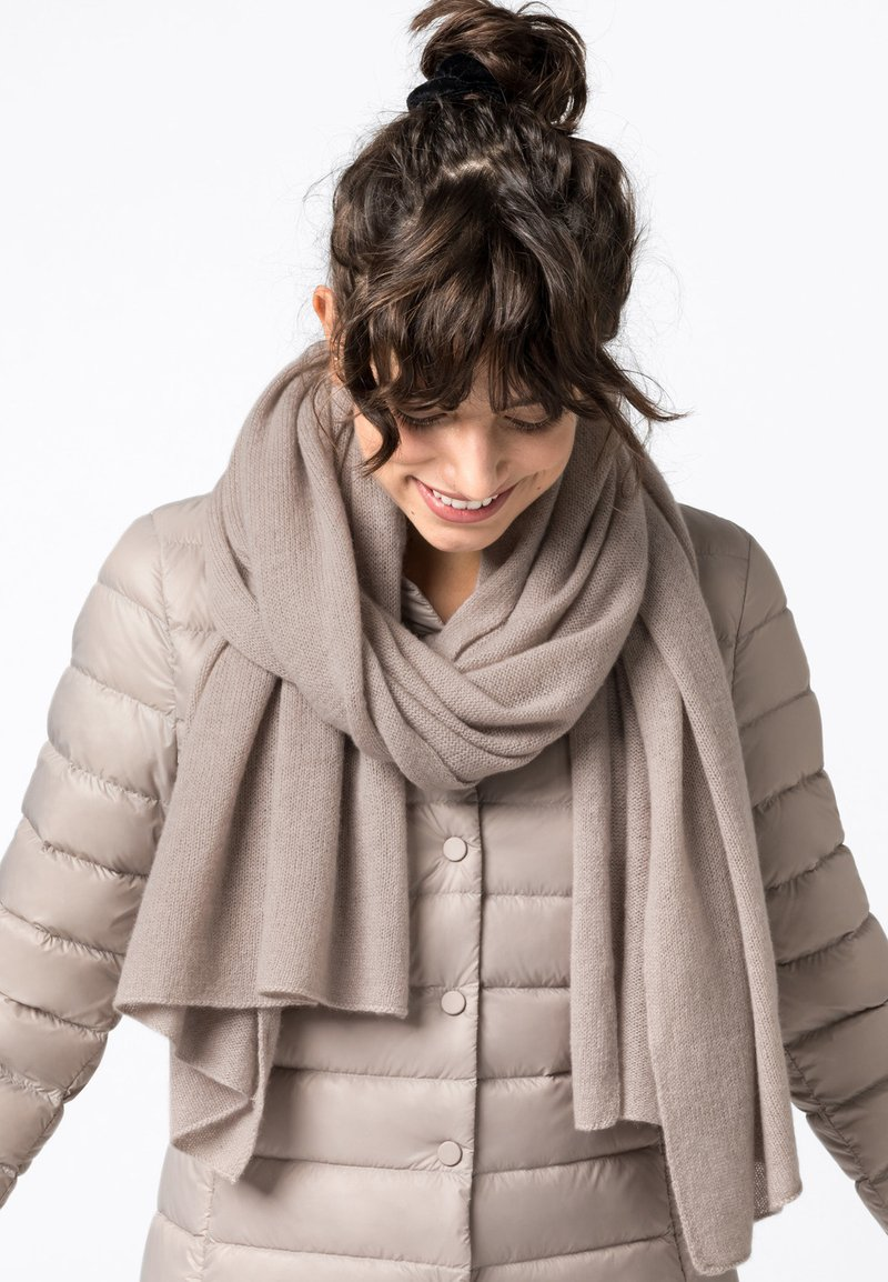 HALLHUBER - Scarf - taupe