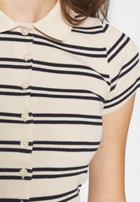 BDG Urban Outfitters - STRIPED COLLARED - Button-down blouse - black/beige - 5