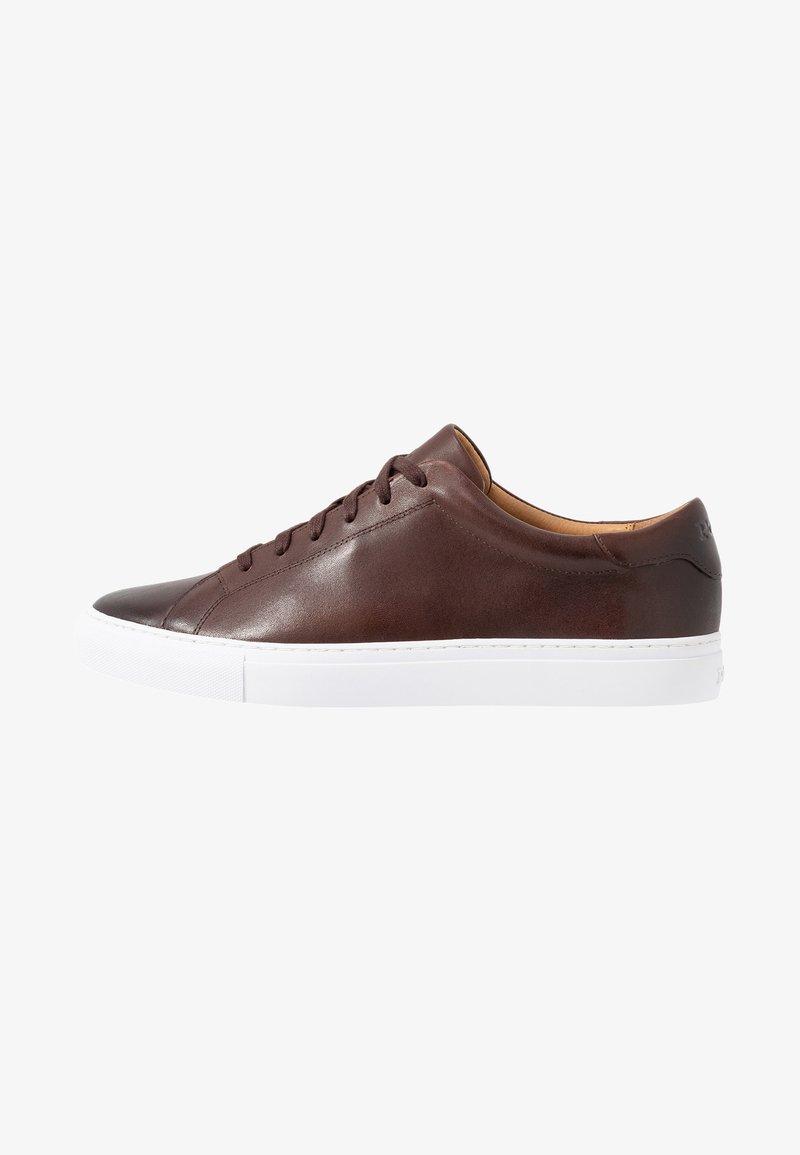 Polo Ralph Lauren - JERMAIN II  ATHLETIC SHOE UNISEX - Tenisky - brown