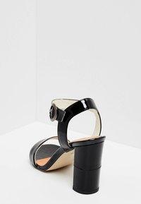 usha - Sandály na vysokém podpatku - black - 4
