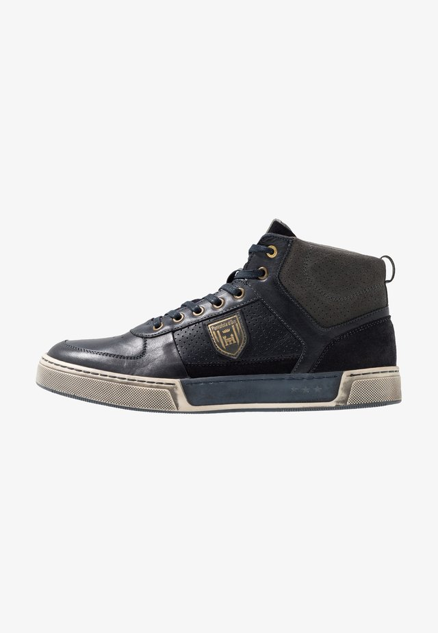 FREDERICO UOMO MID - High-top trainers - dress blues